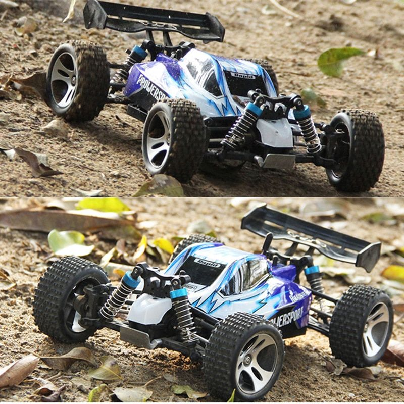 118 Scale 2 4g Remote Control Racing Car Model Off Road 50kmh High