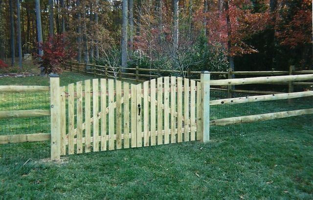 Our Fences | Fences | Pinterest | Fences, Chicken garden and Gate ideas