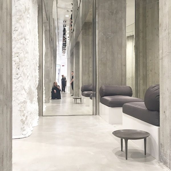 Vosgesparis: Rick Owens Furniture Line And Store Visit | Milan Design Week