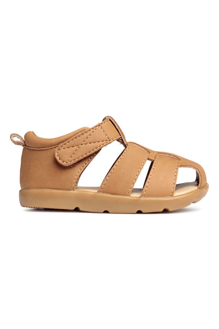 Sandals with a frill - Light brown - Kids | H&M