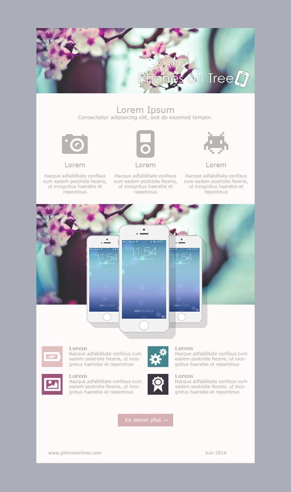Email template | Email Marketing x Newsletter | Pinterest | Email ...