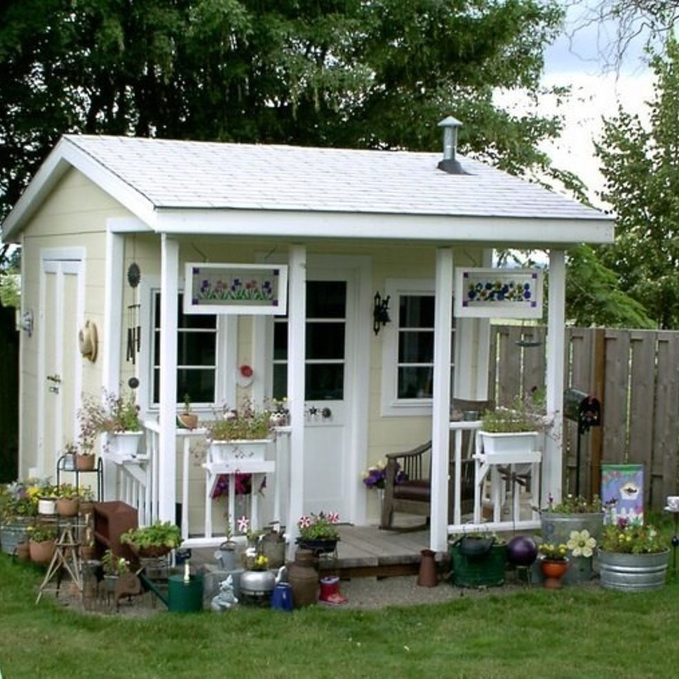 Is It Possible To Hoard Garden Sheds Gardens Tiny