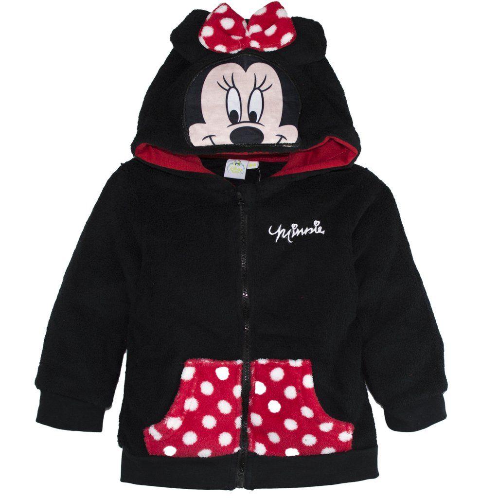 6d59fdd5e0a7 Disney Minnie Mouse Baby Girls Hoodie