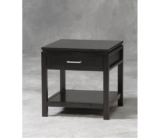 Sutton Black End Table The Simple Beauty Of Sutton End Table Is