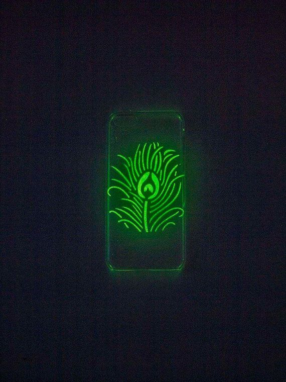 Glow In The Dark Phone Case iPhone Case by UptownGirlFashion