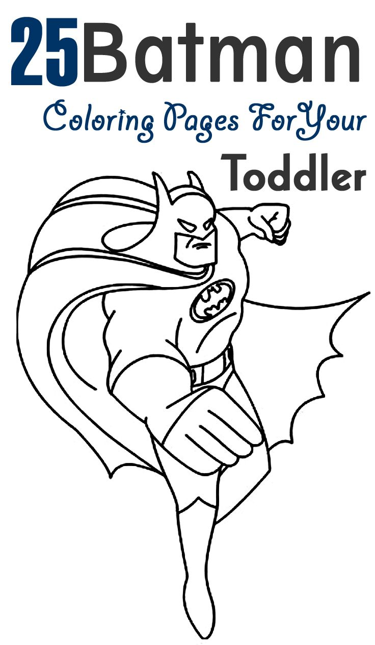 Simple Batman Coloring Pages Background