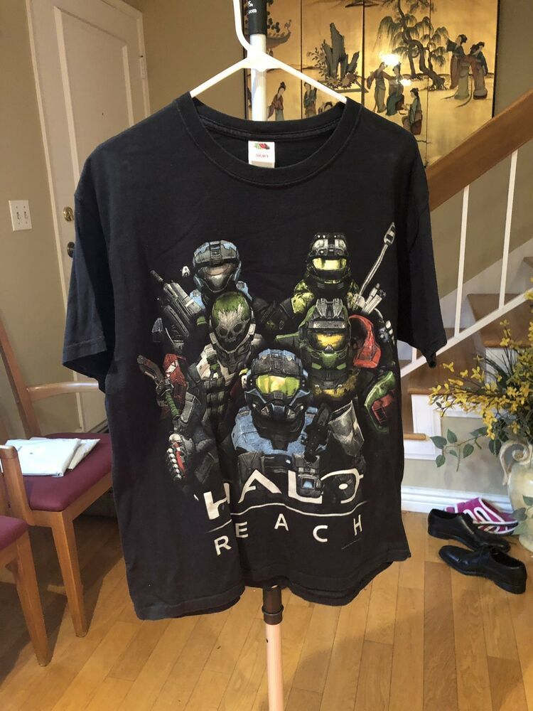 54d697ce6 halo reach Shirt Black Large #fashion #clothing #shoes #accessories  #mensclothing #shirts (ebay link)