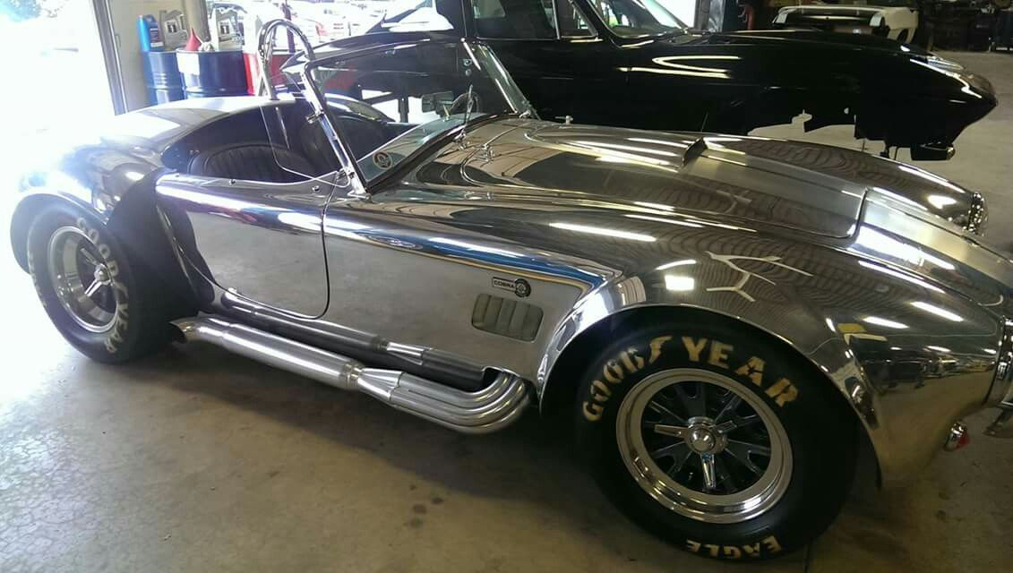 This rare 1965 Shelby Cobra 289 small block is one of only forty aluminum-bodied 40th Anniversary Limited Edition Shelby Cobras ever built.  Legendary Muscle Cars Classic Cars magazine
