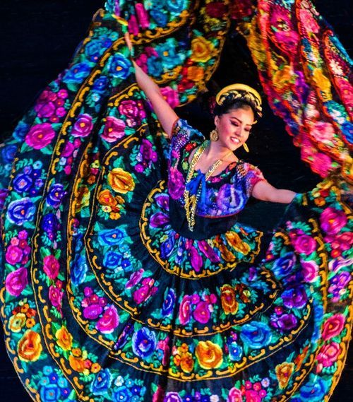 Mexican Folklorica Trajes Tipicos Mexicanos 203904ff1721