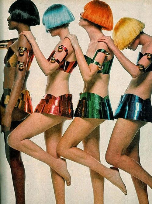 Fashion by Andres Courreges, 1969