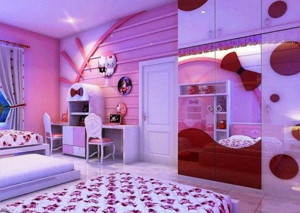 dapatkan desain kamar tidur hello kitty desain rumah minimalis terbaru 2017 selanjutnya klik http