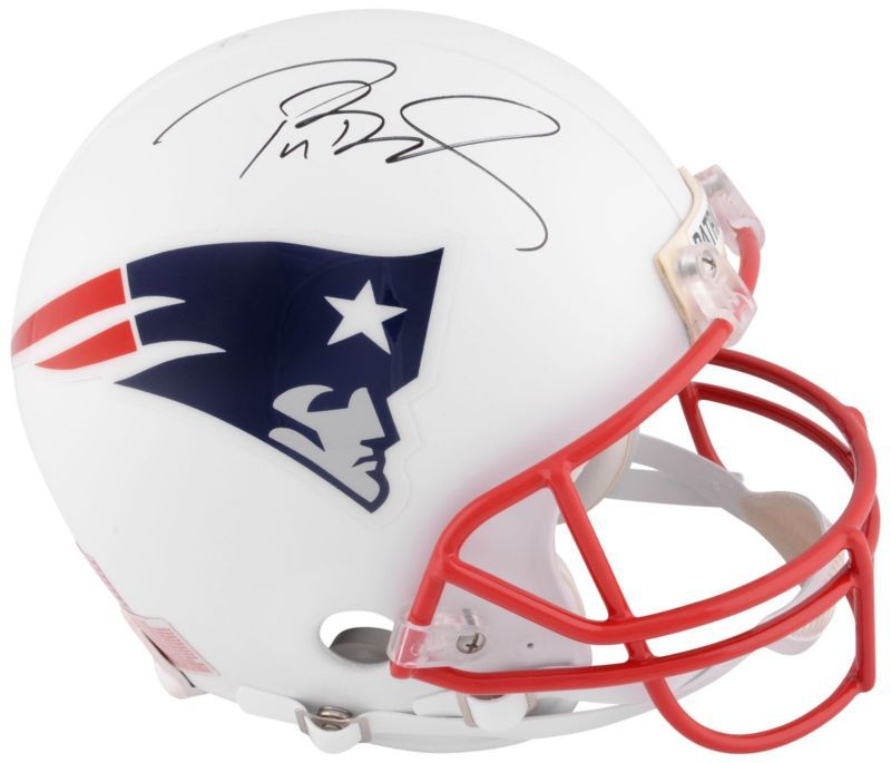 Tom Brady Patriots Signed White Helmet W Red Face Mask Tristar Productions Coa Mask Tristar Productions Face H Helmet Tom Brady News New England Patriots