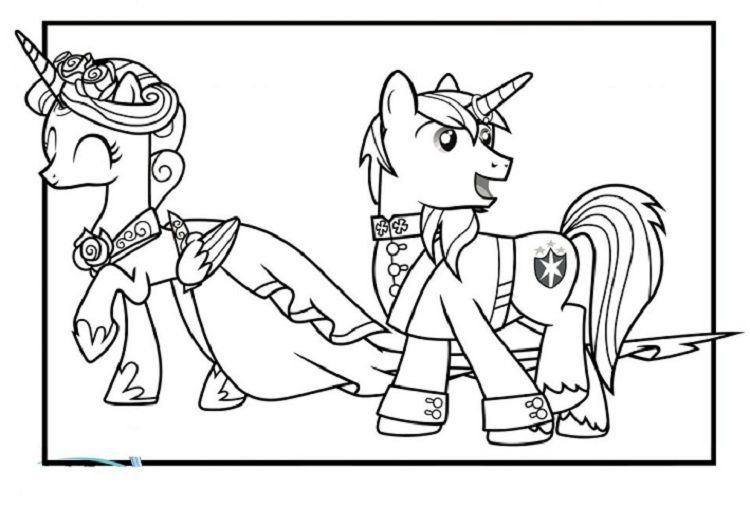My Little Pony Wedding Coloring Pages My Little Pony Coloring Wedding Coloring Pages Coloring Pages