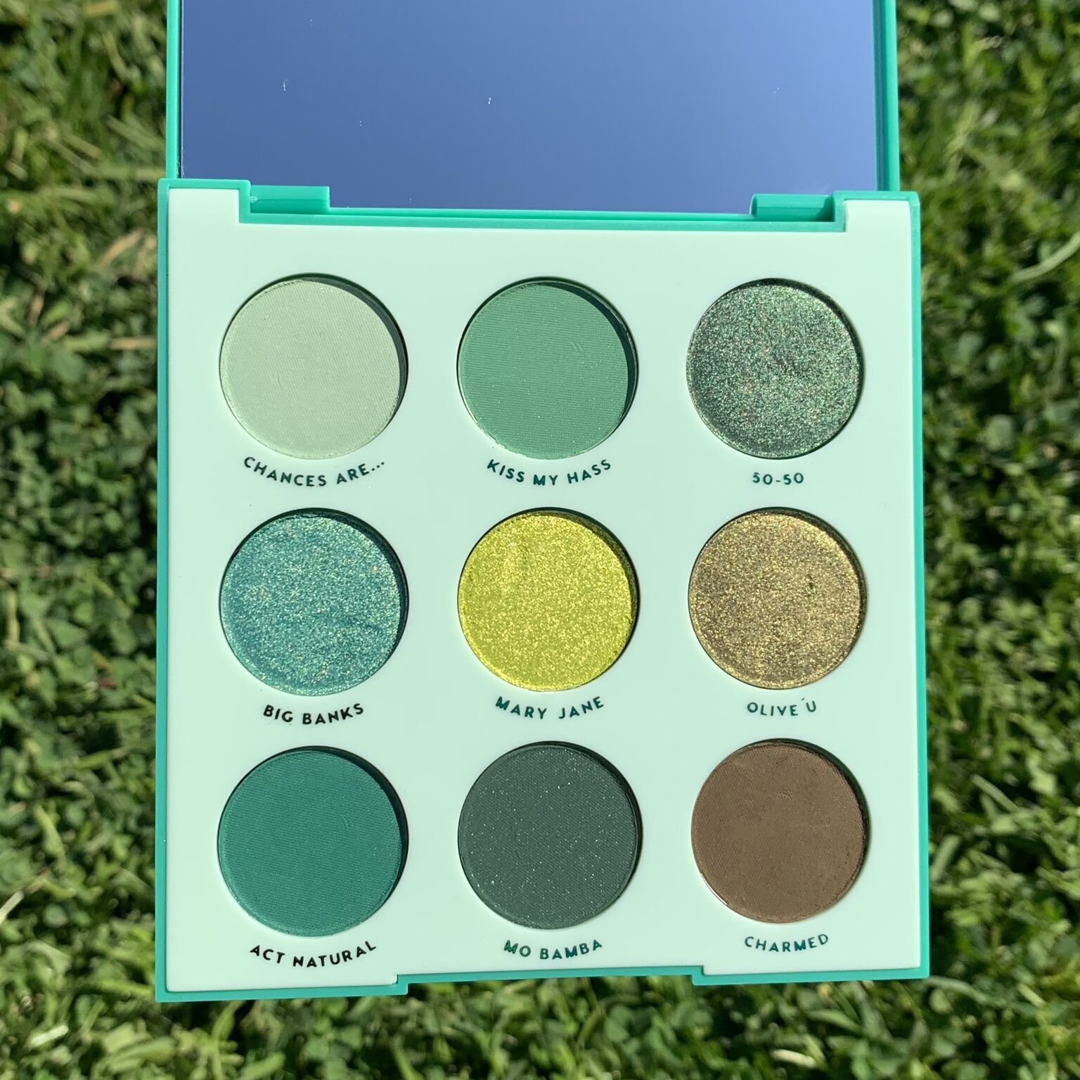 Just My Luck Palette for 12 (With images) Eyeshadow