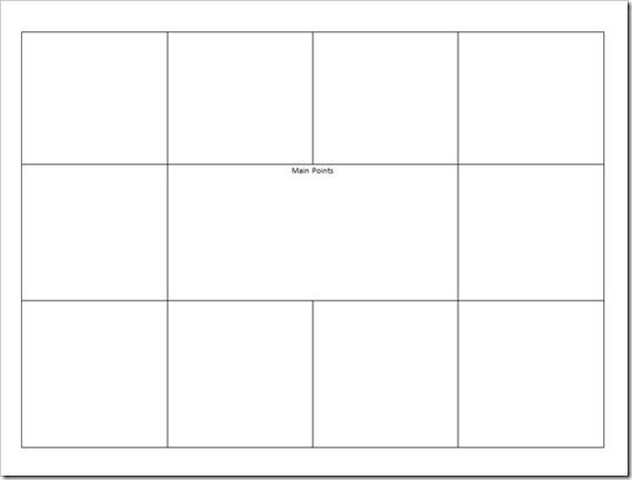 Visual Meeting Notes Template  BasicNoteTakingTemplate