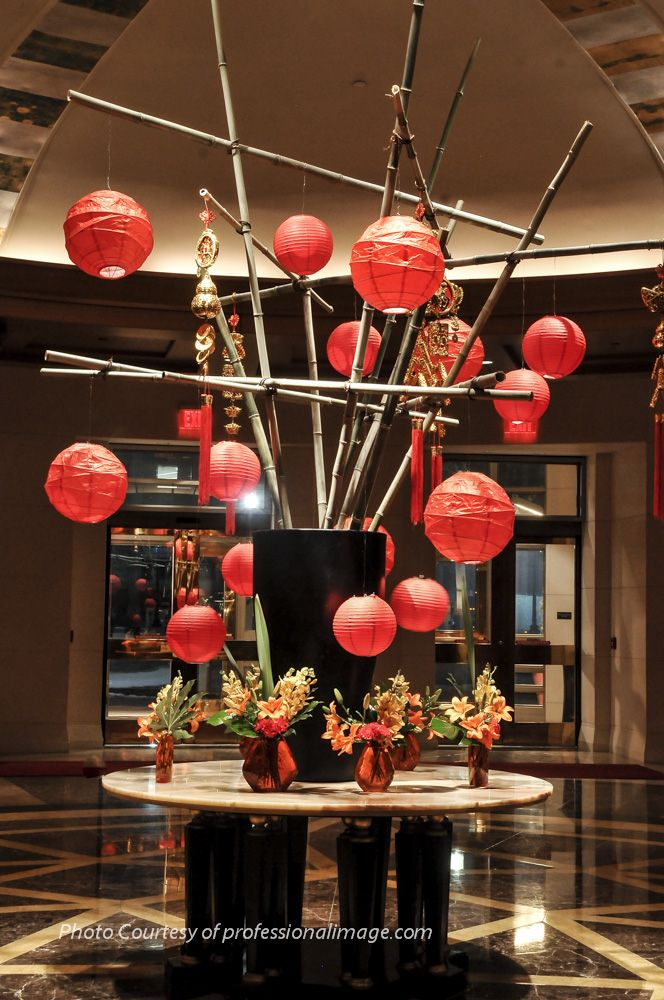 Chinese New Year design in the Mandarin Oriental ...