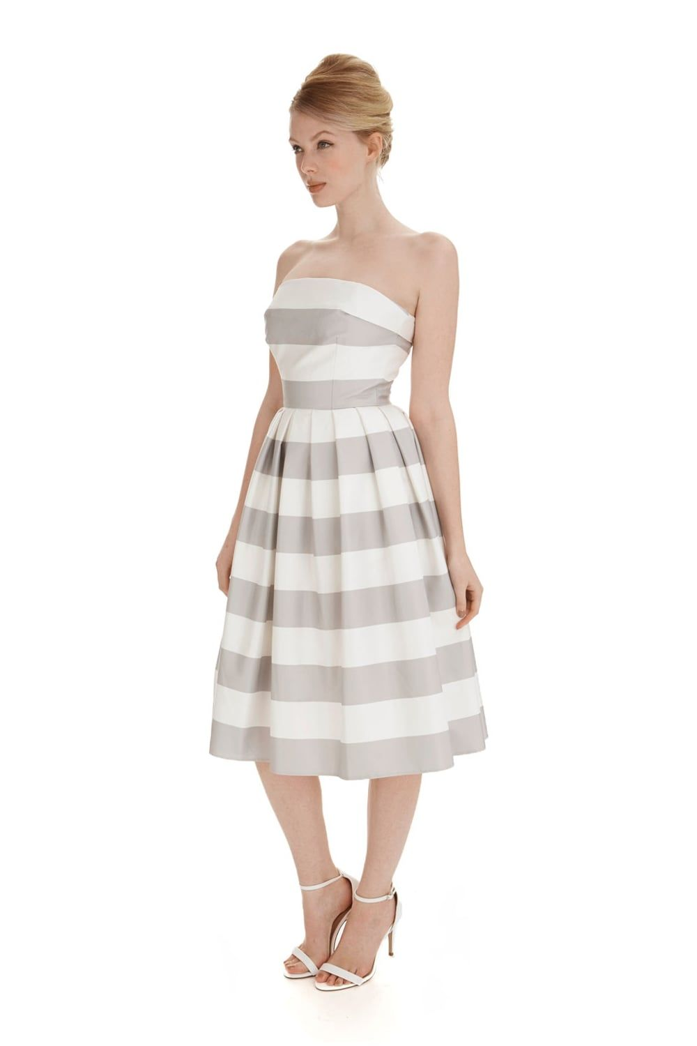 Sainttropez prom dress outfits pinterest striped prom dresses