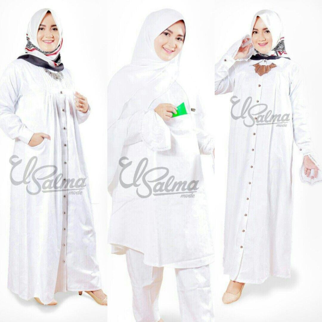 Baju Putih perlengkapan haji dan umroh #bajuputih #mukenaputih