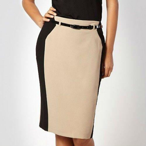 f9590f836ab71 Modelos de falda para oficina  falda  modelos  modelosdeFalda  oficina