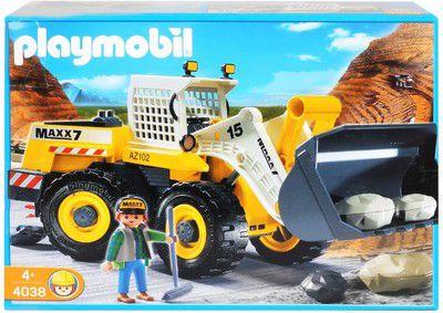 Playmobil heavy duty front loader tspm u b