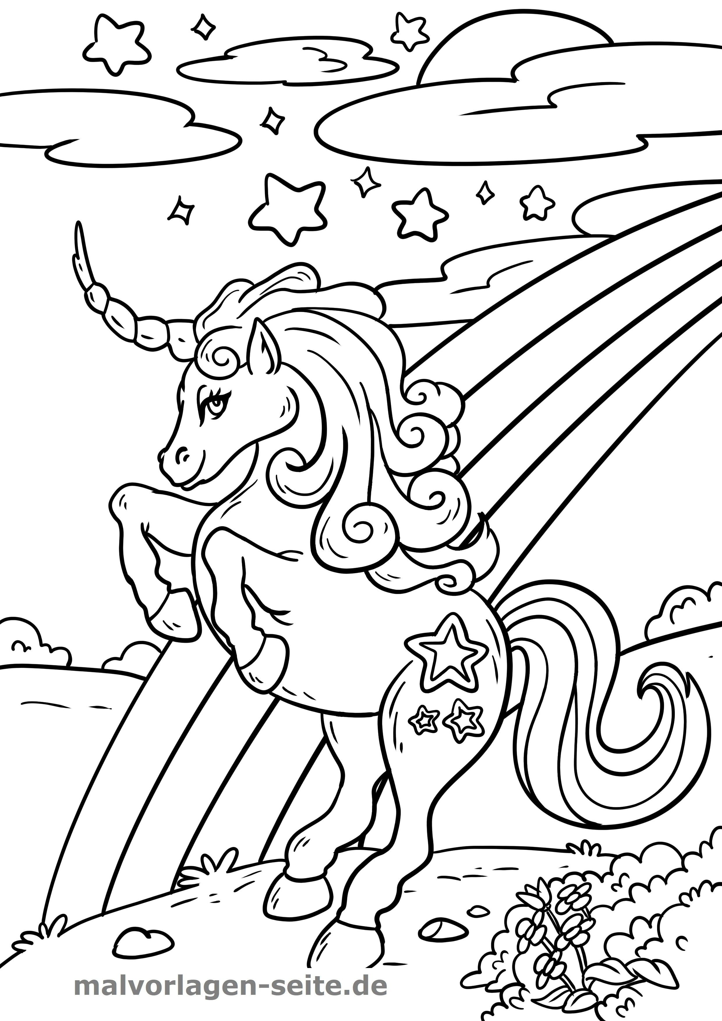 Neu Malvorlagen Kostenlos Einhorn Coloring Pages Coloring Book Pages Colorful Pictures