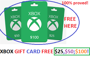 Free Xbox Gift Card Code Xbox One For Free Xbox Gift Card