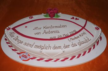 Torte Zur Konfirmation  Konfirmations Torten