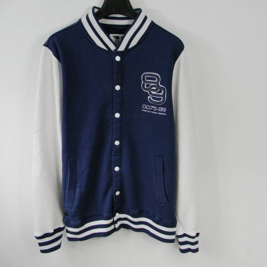 Men's Number 89 navy baseball jacket, price $95 (http://www ...