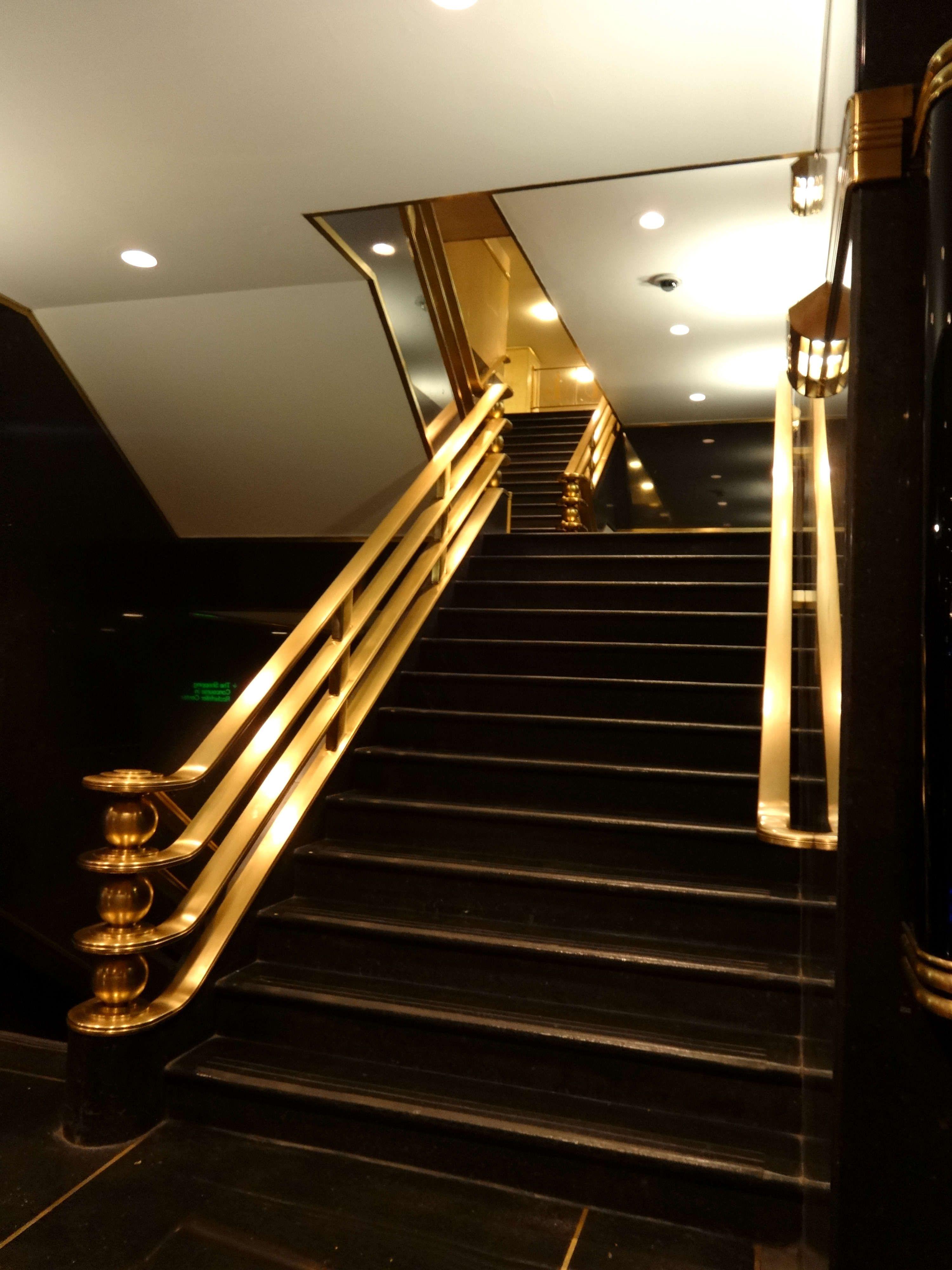 Best Rockefeller Center In 2019 Staircase Design Art Deco 400 x 300