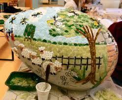 Afbeeldingsresultaat voor zelf mozaiek steentjes maken