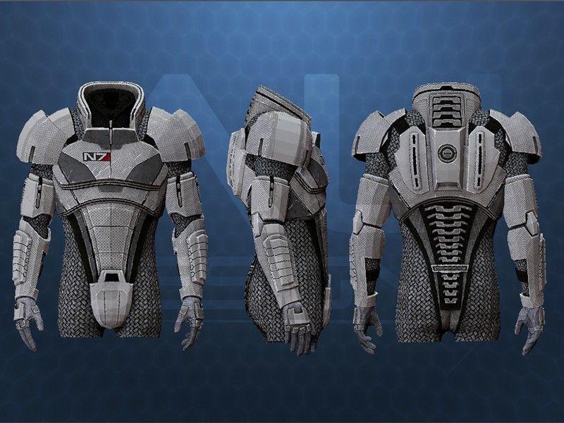 mass effect 3 n7 armor template - axiomultra 39 s mass effect project mass effect armor