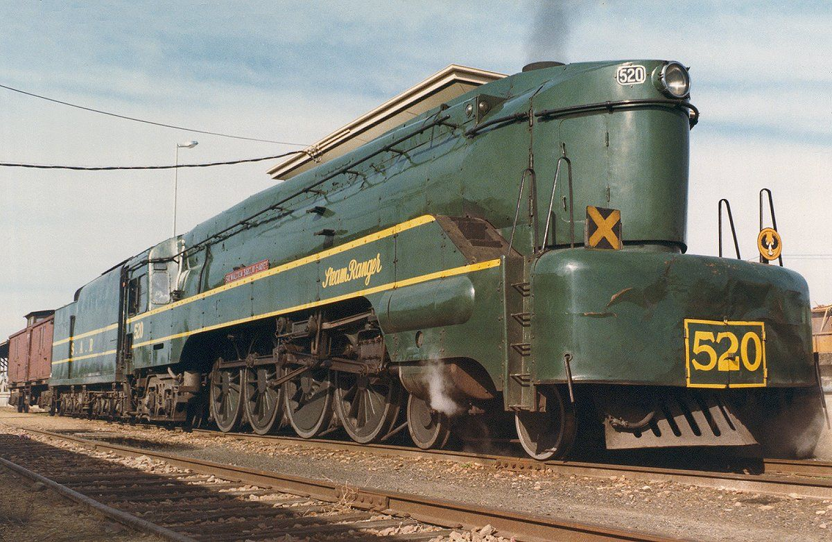 South Australian Railways 520 Class Steam Locomotive Locomotive Steam Locomotive Railway