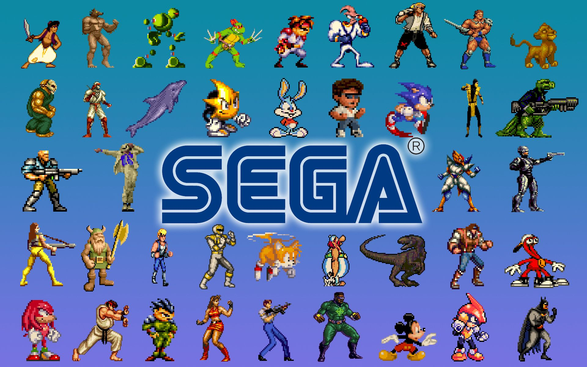 Retro Video Gaming Wallpaper Sega Genesis All Stars Retro Games Wallpaper Sega Games Sega Genesis