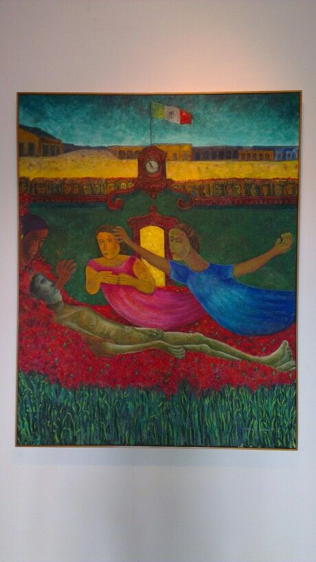 Mas allá del Silencio (Beyond the Silence) - Rodolfo Morales -  he was from Oaxaca & his work still sells for tens of thousands of dollars when it can be found