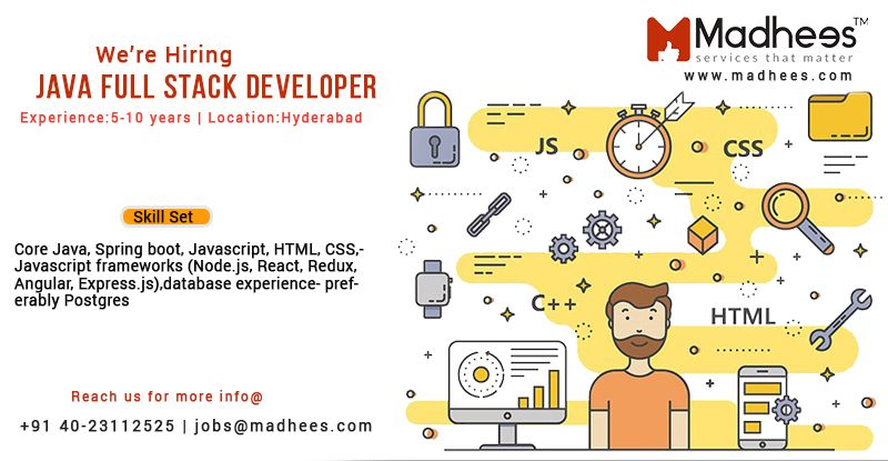 We Are Looking For Exceptional Java Based Fullstack Developers To Join Our Team And Also Learn Newtechnolo Full Stack Developer Full Stack Software Engineer