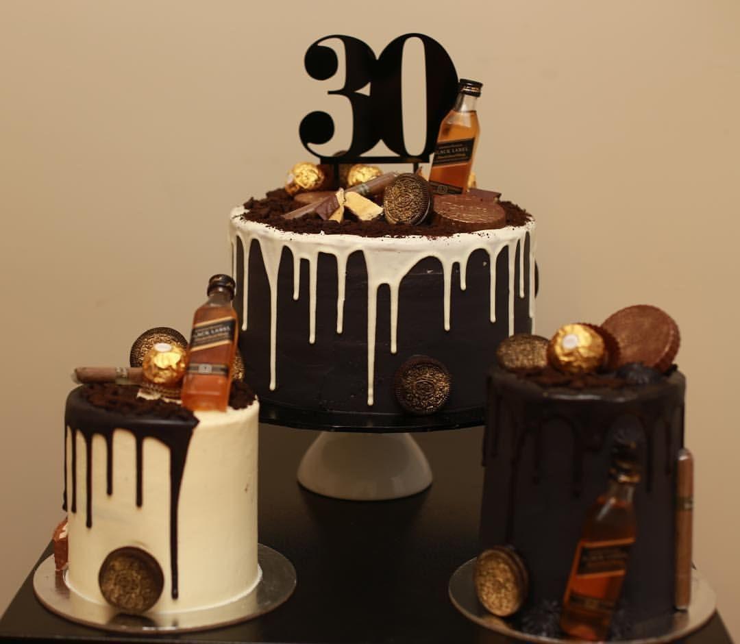 Johnny Walker Amp Cigars Cake Eat Cake 25th Birthday
