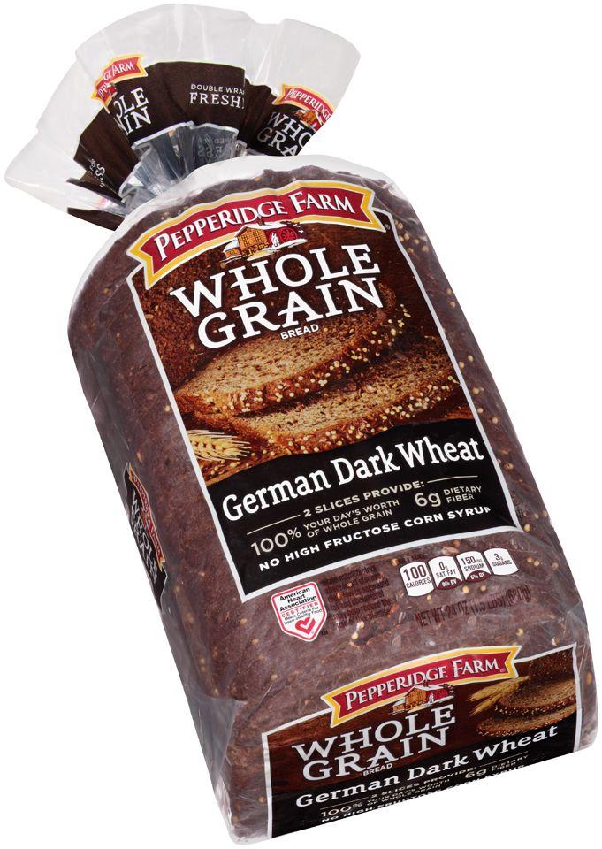 pepperidge farm whole wheat bread german dark wheat - Google Search ...