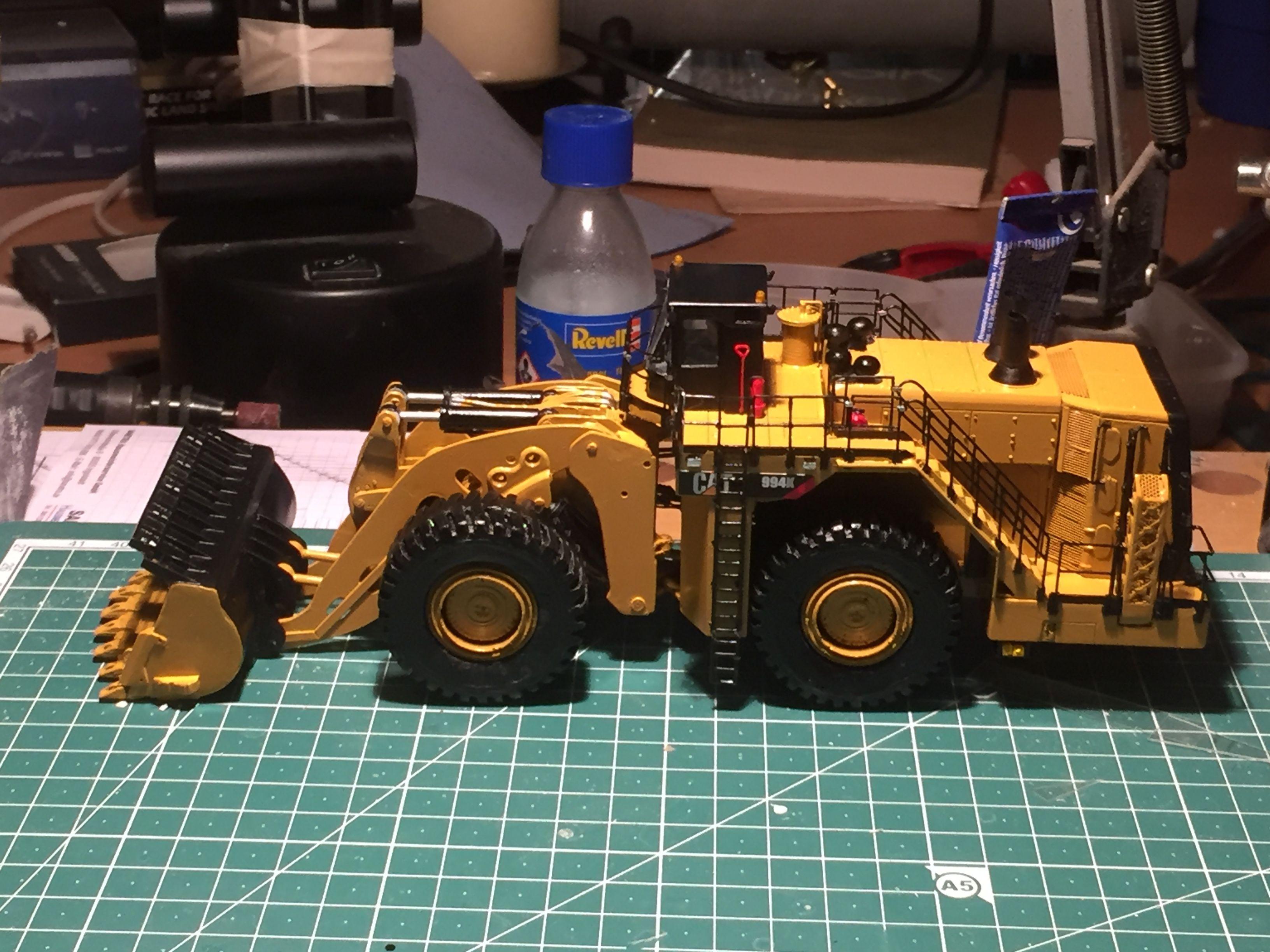 Cat Radlader Spielzeug