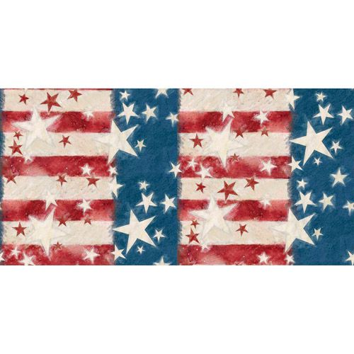 Springs Creative Patriotic Star Flag Fabric By The Yard Crafts