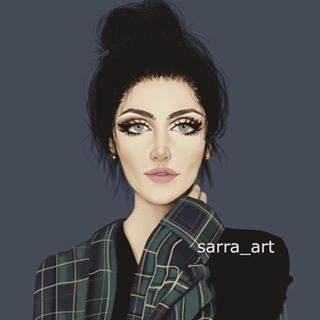 Sara Ahmed Sarra Art Instagram Photos And Videos Sarra Art Girly Art Girly Drawings