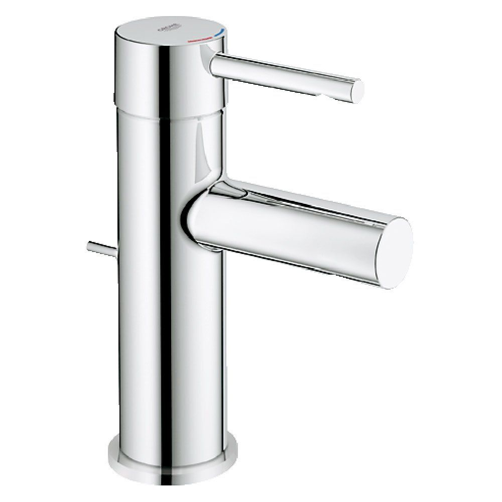 Grohe Essence Chrome Basin Mixer Tap 32898000 | Basin taps UK ...
