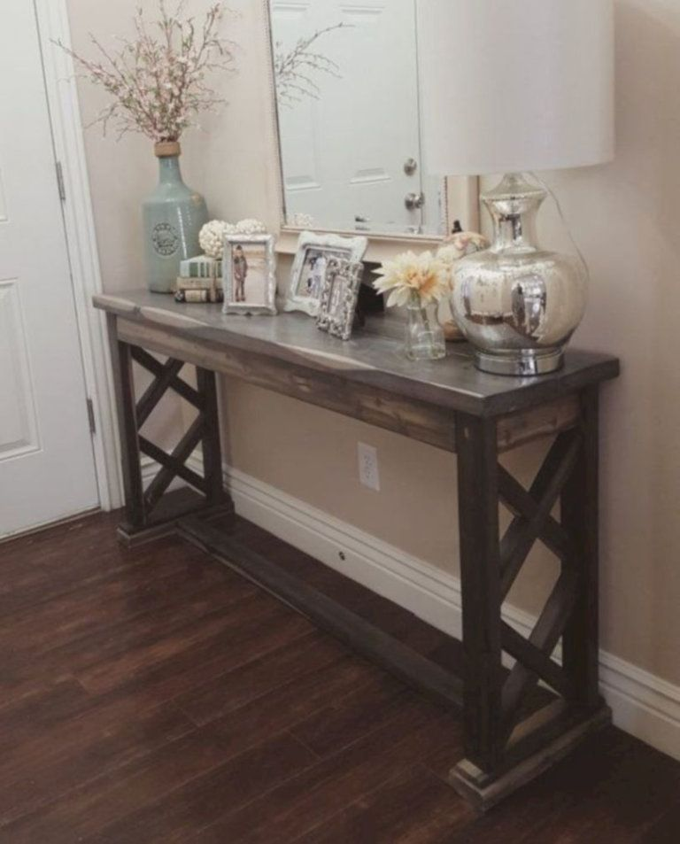20 Best Entryway Table Ideas To Greet Guests In Style Home Decor Farmhouse Entryway Table Decor