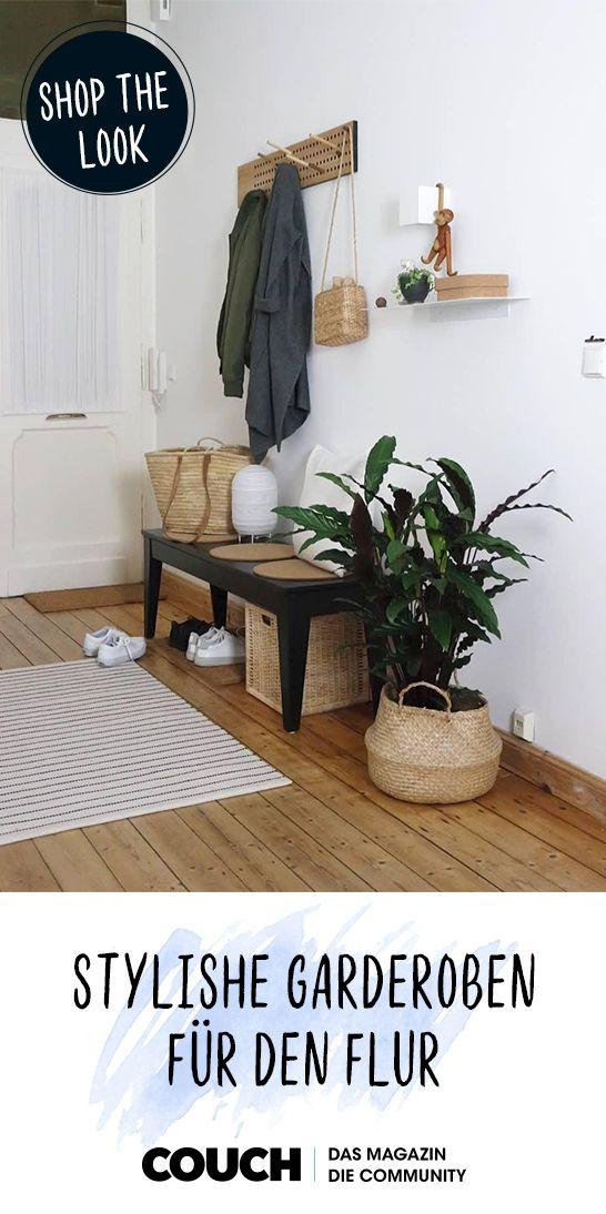 Stilvolle Garderoben für deinen Flur #designbuanderie