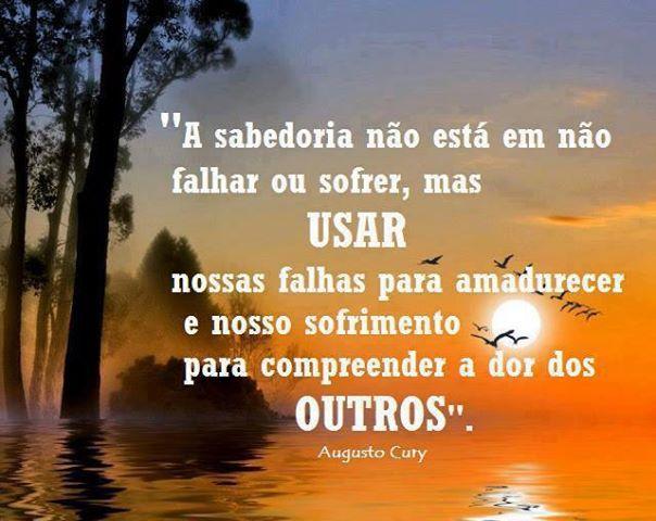 Imagens De Augusto Cury Ordem De Organização Frases Quotes E Me