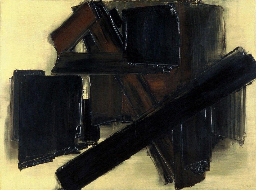 Pierre Soulages (1919-1992) _ (segno-gesto)