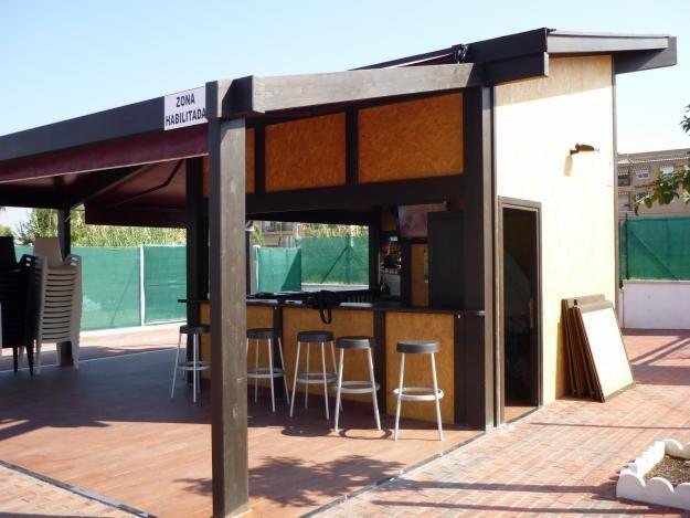 Pergolas exclusivas para bares terrazas y clubes - Pergolas para terrazas ...