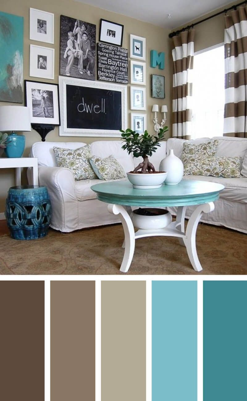 11 Cozy color schemes for the living room to create the color harmony in your ...#color #cozy #create #harmony #living #room #schemes