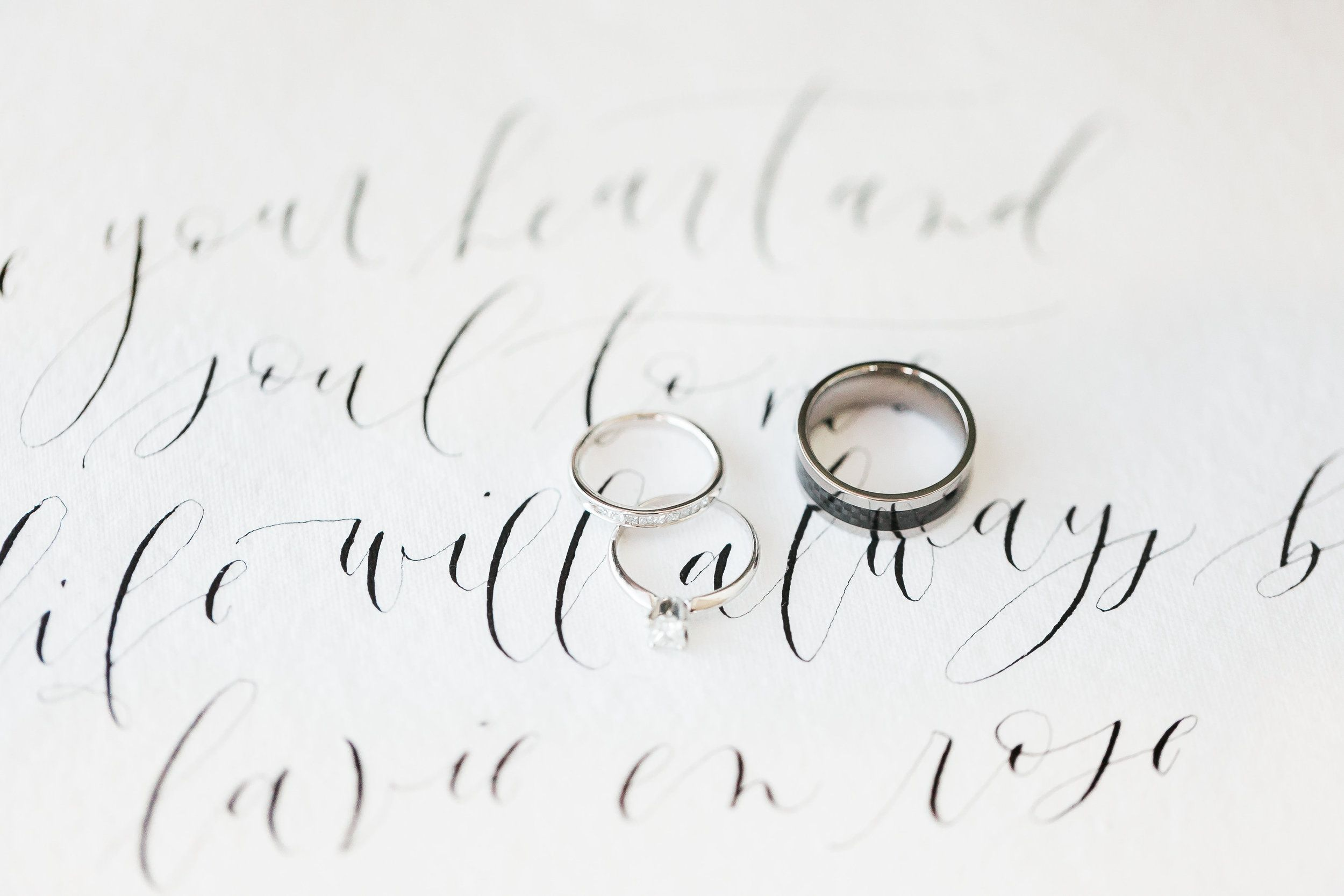 Calligraphy Vow
