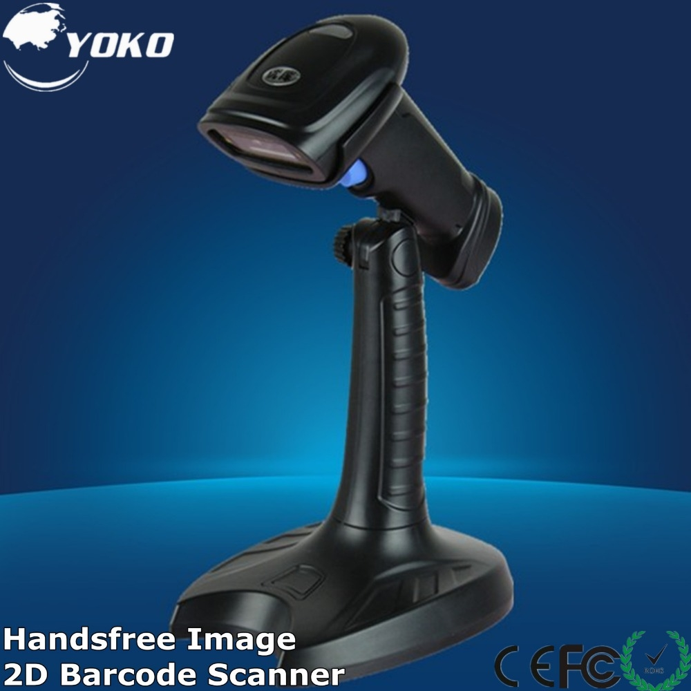 70.00$  Buy here  - 2D/QR  Image Barcode Scanner  Fast speed  with USB/RS232 suitable for  POS and inventory Free shipping