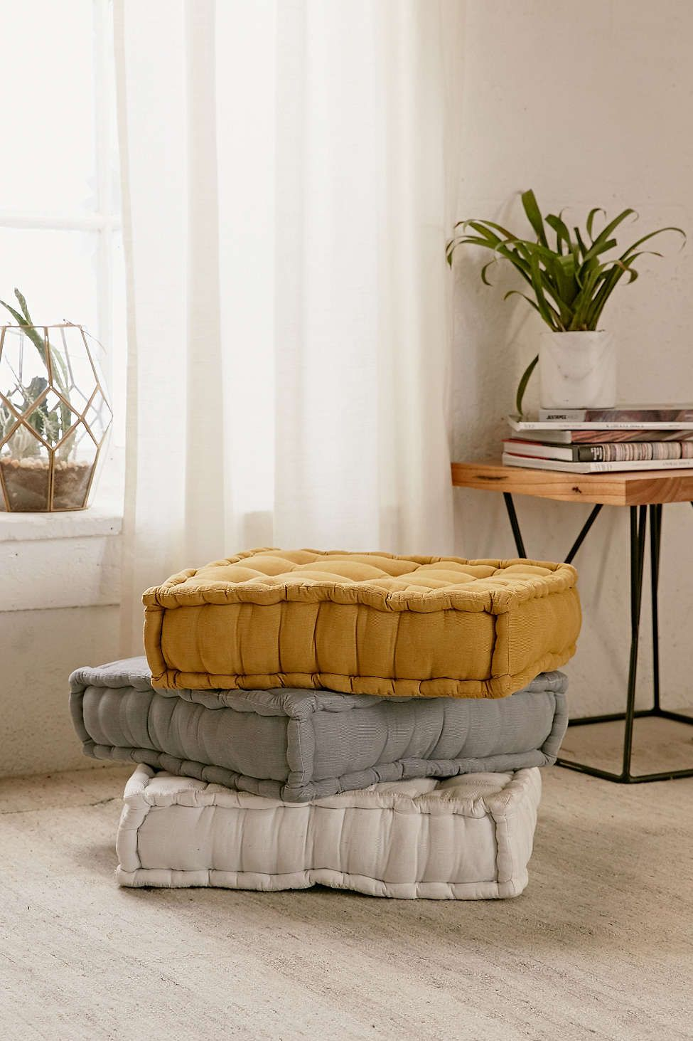 tufted corduroy floor pillow pinterest floor pillows pillows